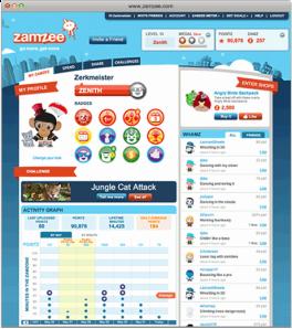 Zamzee Web site