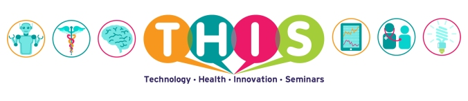 Technology Health Innovation Seminars logo banner